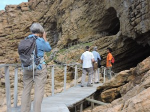 Point of Human Origins archaeology tours, Mossel Bay