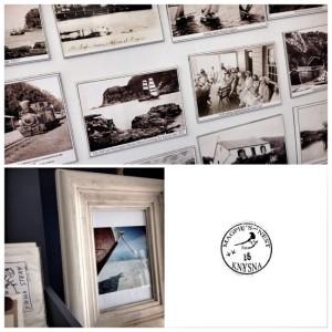 Magpie's Nest gift shop, Knysna; fridge magnets & framed, original photographs
