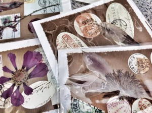Magpie's Nest gift shop, Knysna; hand-made greeting cards