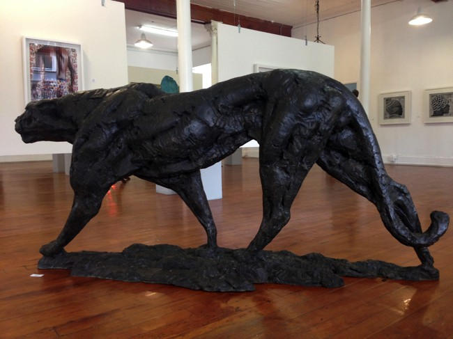 dylan lewis, bronze sculpture south africa, knysna fine art