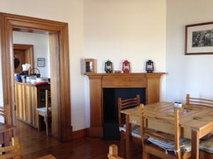 Tea room at Diepwalle Forest Station