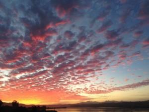 Sunset, Knysna Lagoon